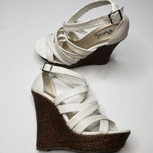 Cupid Strappy Wedge Sandal